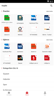 News Republic – Son Dakika Ekran Görüntüsü