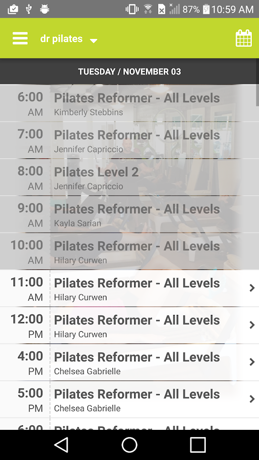 dr pilates- screenshot