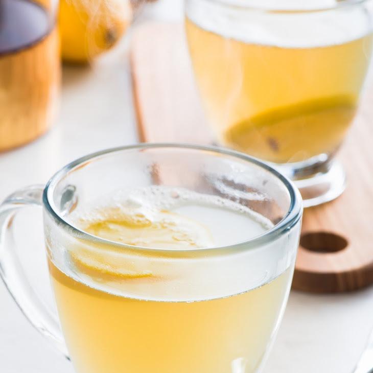 Flu Season Ginger Honey Lemon Tonic Recipe