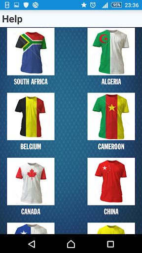 National Team Football Quiz