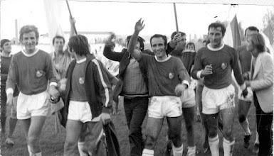Photo: 24.10.1971g, Ljubljana - Orijent 2-3. 500 navijaca Orijenta u Ljubljani