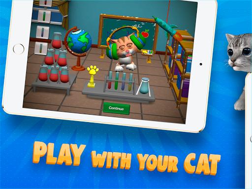 Paint My Cat: 3D Coloring Sandbox screenshot 3