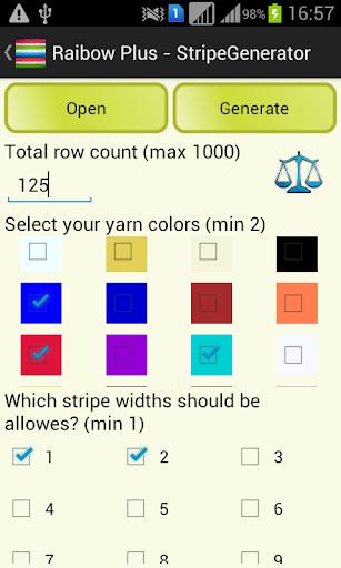 彩虹加 - 条纹发电机