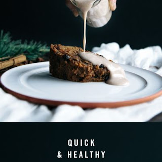 Quick & Healthy Christmas Pudding.
