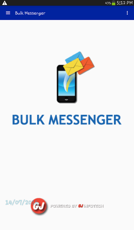 Bulk SMS- screenshot