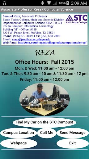 Associate Professor Reza