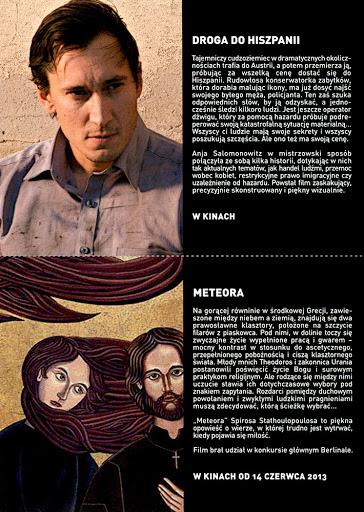 Tył ulotki filmu 'Droga Do Hiszpanii'