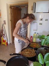 Photo: vaření dāny - cooking for dāna