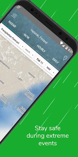 Weather Radar Free — Live Maps & Alerts screenshot 2
