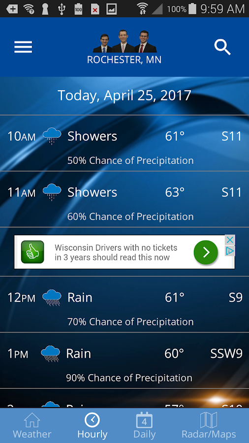 KIMT Weather- screenshot