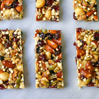 "Homemade Fruit & Nut ""KIND Bars"" Recipe"