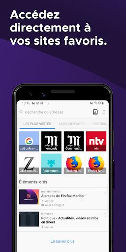 Firefox : le navigateur web rapide et privé screenshot 5