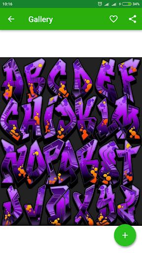 Drawing Graffiti Letters  screenshots 6