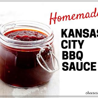 Homemade Kansas City BBQ Sauce Recipe