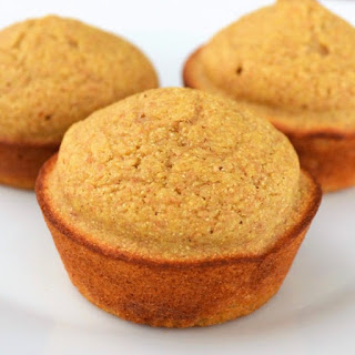 Healthy Cornbread Muffins.