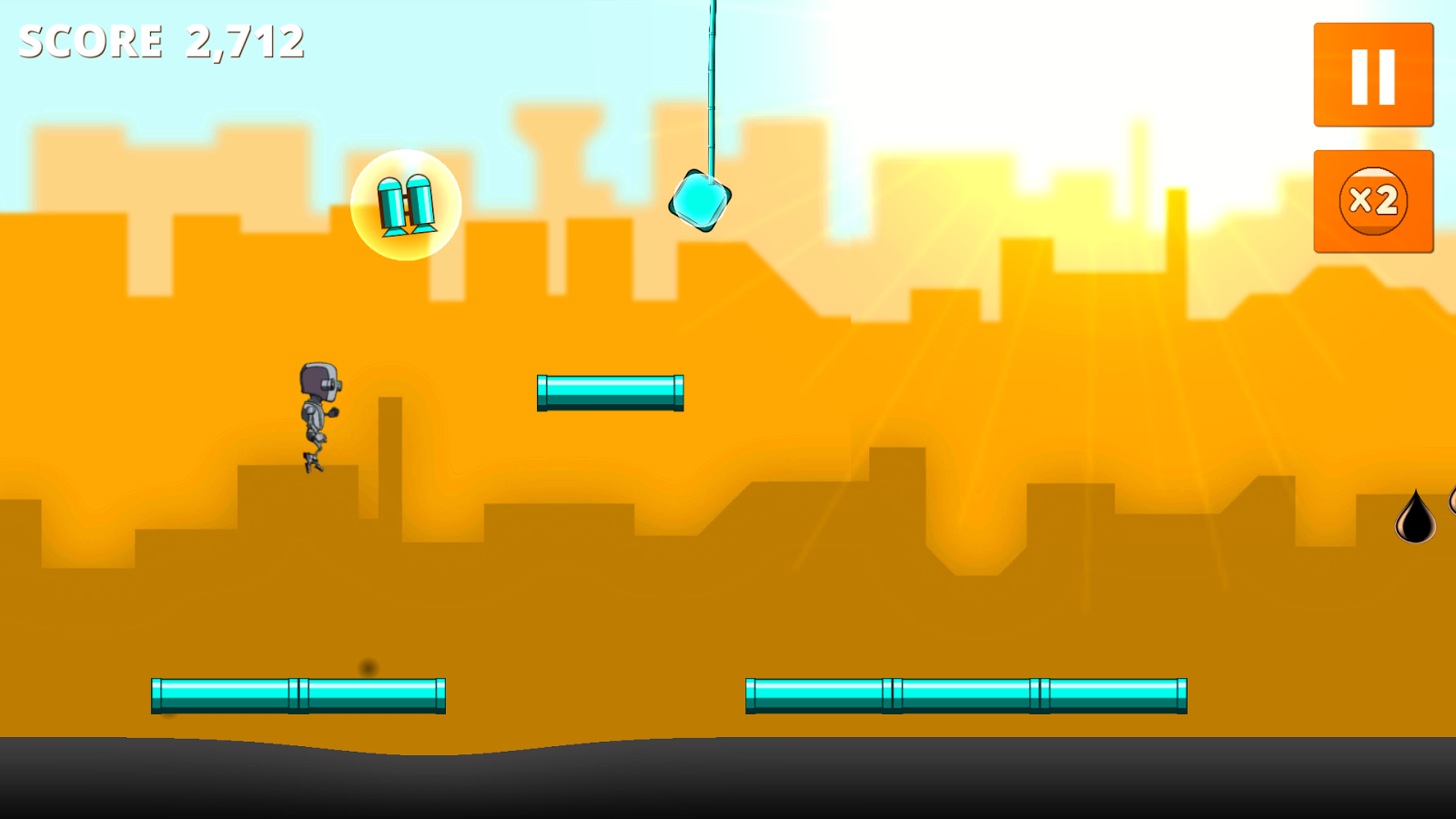 Petroleum Madness Runner- screenshot