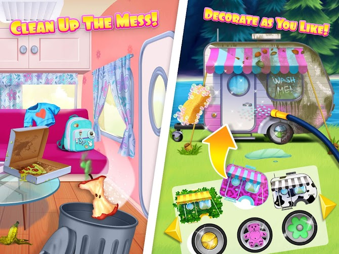 Sweet Baby Girl Summer Camp - Kids Camping Club Android 15
