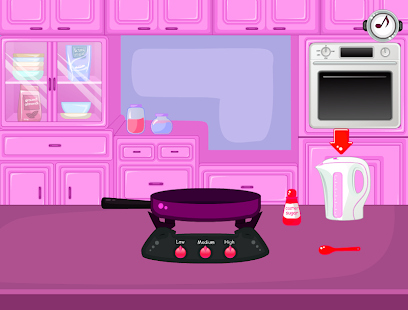 cooking decoration cupcakes games - náhled