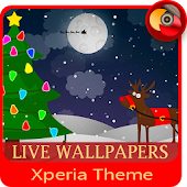 Christmas Eve  | Xperia™ Theme and Icon Pack