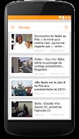 Screenshot of Senego: News in Senegal