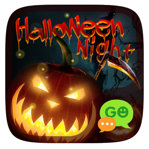 (FREE) HALLOWEEN NIGHT THEME 個人化 App LOGO-硬是要APP