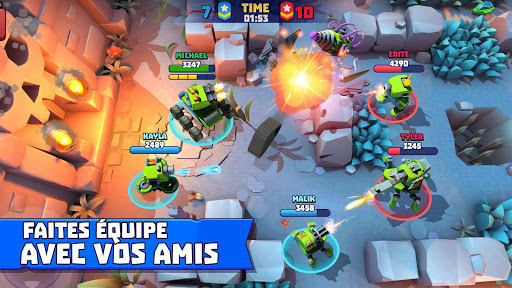Code Triche Tanks A Lot! - Realtime Multiplayer Battle Arena mod apk screenshots 3