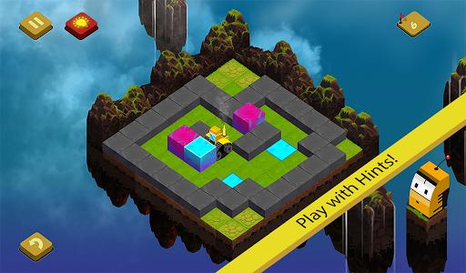 Sky Blocks Push - Sokoban Game Screenshot