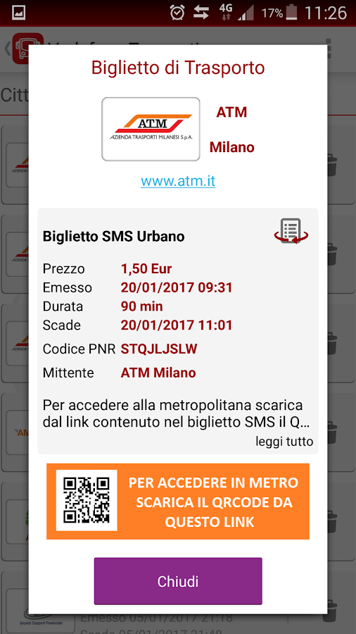 Vodafone Trasporti- screenshot