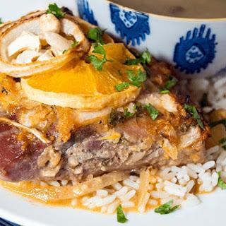 Orange Miso Pork Chops