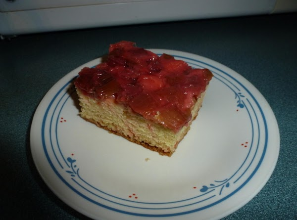 Rhubarb Upside Down Cake Recipe