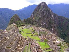 Photo: Macchu Picchu. PERU