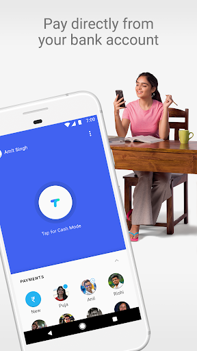 Tez – A new payments app by Google screenshot for Android
