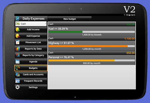 Daily Expenses License screenshots 14
