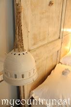 Photo: lampada di recupero, ricavata da un faretto