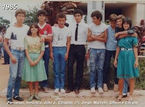 Photo: Nossa galera em 1985 em frente à Paróquia São Sebastião do Gama-DF