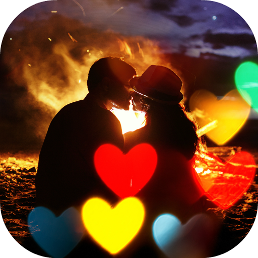 Heart Photo Effects Maker App Icon