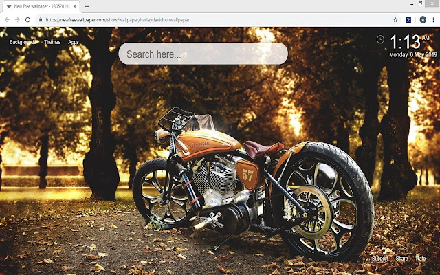 Harley Davidson Wallpaper HD Motorcycle Theme
