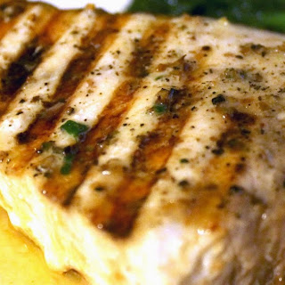 Grilled Swordfish Steaks.