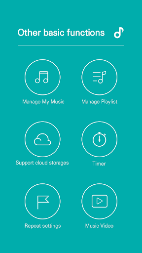 GOM Audio - Music, Sync lyrics, Podcast, Streaming 2.3.5 screenshots 6