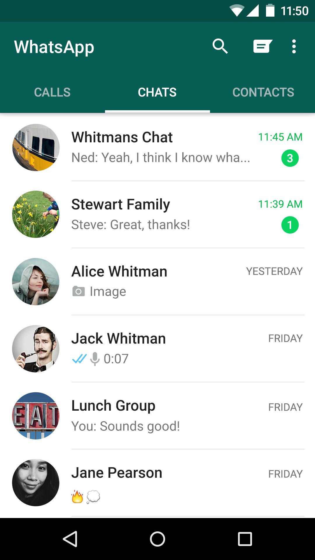 WhatsApp Messenger screenshot #6