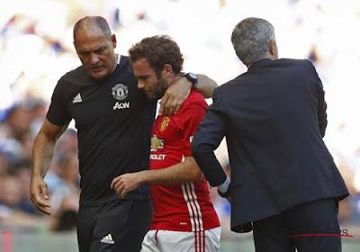 José Mourinho en Juan Mata zijn eindelijk bij elkaar gekomen