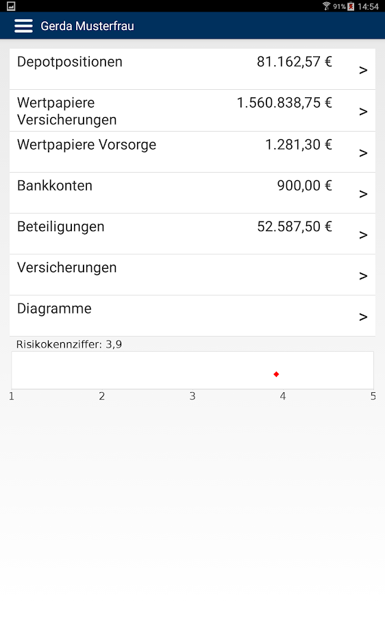 FondsKonzept- screenshot