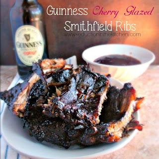 Guinness Cherry Glazed Smithfield Ribs #weavemade #ReadySetRibs #ad