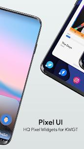 Pixel UI – High Quality Pixel Widgets for KWGT 6