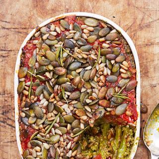 Quinoa Asparagus Gratin