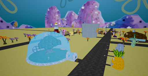 Bikini-Bottom in 3D (Sponge Bob) 1 screenshots 2