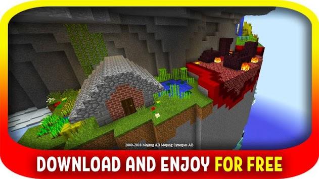 minecraft pe parkour maps download