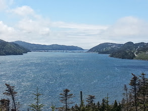 Photo: A different look at Placentia Newfoundland.  I had time to kill waiting for the ferry, so I rode around a bit.