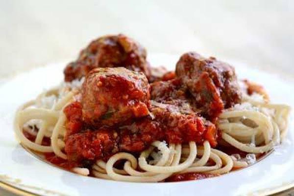 Peg's Spaghetti & Meatballs Recipe