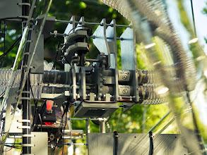 Photo: The airflow directing h-bridge gear